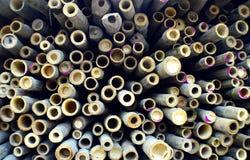 De achtergrond van de bamboesectie royalty-vrije stock afbeelding