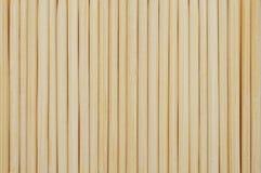 De achtergrond van de bamboetandenstoker Stock Afbeeldingen