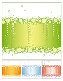 De achtergrond van de bel vert Stock Afbeeldingen
