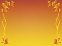 De Achtergrond van de Bladeren van de herfst Royalty-vrije Stock Afbeeldingen