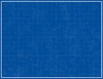 De Achtergrond van de blauwdruk Stock Foto
