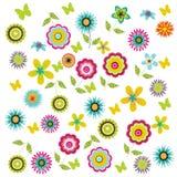 De achtergrond van de bloem. Royalty-vrije Stock Afbeeldingen