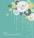 De achtergrond van de bloem stock illustratie