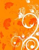 De achtergrond van de bloem Stock Foto