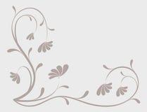 De achtergrond van de bloem, element voor ontwerp royalty-vrije illustratie