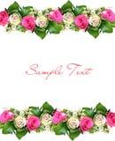 De achtergrond van de bloem met structuur Royalty-vrije Stock Foto's