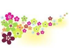 De Achtergrond van de Bloem van de lente royalty-vrije illustratie