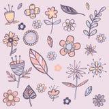 De achtergrond van de bloemenkleur Royalty-vrije Stock Foto's