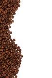 De achtergrond van de Bonen van de koffie Royalty-vrije Stock Afbeeldingen