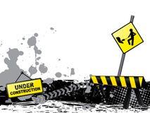 De achtergrond van de bouw stock illustratie