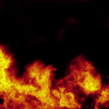 De achtergrond van de brand Royalty-vrije Stock Foto
