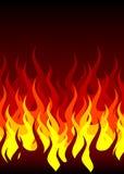 De achtergrond van de brand stock illustratie