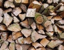 De achtergrond van de brandhouttextuur royalty-vrije stock afbeelding