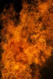De achtergrond van de brandtextuur Royalty-vrije Stock Foto