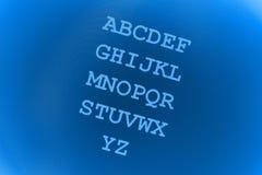 De achtergrond van de brief Stock Fotografie