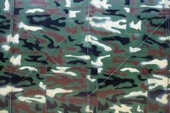 De achtergrond van de camouflagetent Royalty-vrije Stock Afbeelding