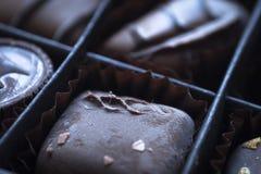 De achtergrond van de chocolade royalty-vrije stock fotografie