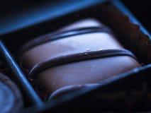 De achtergrond van de chocolade Royalty-vrije Stock Foto's
