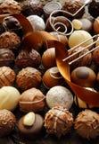 De Achtergrond van de Chocolade van de luxe Royalty-vrije Stock Foto