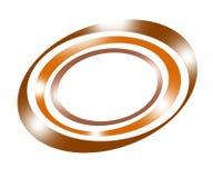 De achtergrond van de cirkel Stock Afbeeldingen