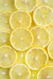 De achtergrond van de citroen Royalty-vrije Stock Fotografie