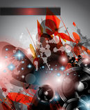 De achtergrond van de Club van de muziek voor de vliegers van de discodans Royalty-vrije Stock Foto's