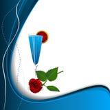 De achtergrond van de cocktail Royalty-vrije Stock Foto