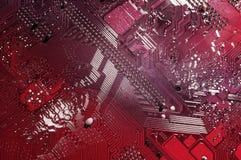De achtergrond van de computer stock foto
