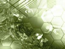 De achtergrond van de computer Royalty-vrije Stock Foto's