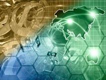De achtergrond van de computer Royalty-vrije Stock Afbeelding