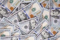 De achtergrond van de contant gelddollar voor uw gebruik Stock Afbeeldingen
