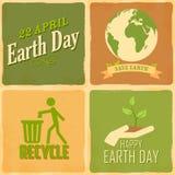 De achtergrond van de Dag van de aarde Royalty-vrije Stock Foto's