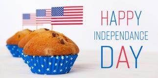 De Achtergrond van de Dag van de onafhankelijkheid Royalty-vrije Stock Afbeeldingen
