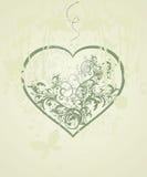 De achtergrond van de Dag van de valentijnskaart Stock Foto's