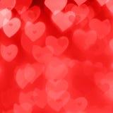 De achtergrond van de Dag van de valentijnskaart Stock Foto