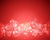 De Achtergrond van de Dag van de valentijnskaart Stock Afbeeldingen