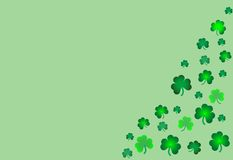 De achtergrond van de Dag van heilige Patrick Royalty-vrije Stock Fotografie