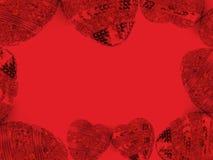 De achtergrond van de Dag van valentijnskaarten Royalty-vrije Stock Foto
