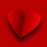 De achtergrond van de Dag van valentijnskaarten. Royalty-vrije Stock Afbeelding