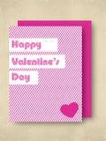 De achtergrond van de Dag van valentijnskaarten. Royalty-vrije Stock Fotografie