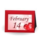 De achtergrond van de Dag van valentijnskaarten. Stock Fotografie