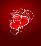 De achtergrond van de Dag van valentijnskaarten Royalty-vrije Stock Fotografie