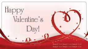 De achtergrond van de Dag van Valentin `s stock illustratie