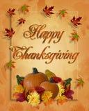 De Achtergrond van de Daling van de Herfst van de dankzegging Stock Foto's