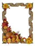 De Achtergrond van de Daling van de Herfst van de dankzegging Stock Foto