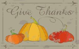 De achtergrond van de dankzegging Stock Foto