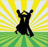 De Achtergrond van de Dans van de balzaal stock illustratie
