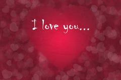 De Achtergrond van de de Dagliefde van Valentine Royalty-vrije Stock Fotografie