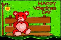 De achtergrond van de de Dagviering van gelukkig Valentine Royalty-vrije Stock Foto