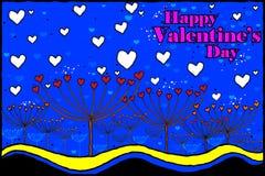 De achtergrond van de de Dagviering van gelukkig Valentine Stock Fotografie